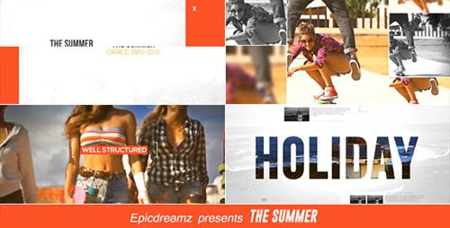 The Summer - Project for After Effects (Videohive)