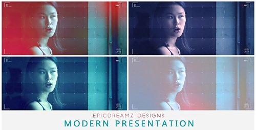 Modern Presentation - Project for After Effects (Videohive)