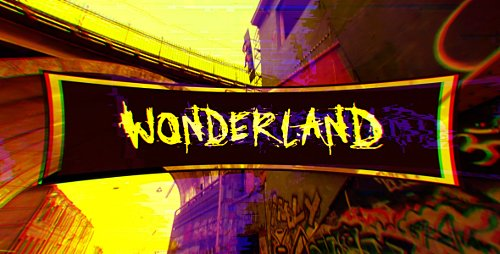 Wonderland (Glitch Art Slideshow) - Project for After Effects (Videohive)