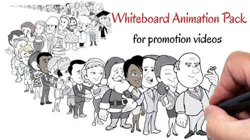 Whiteboard Animation Pack For Promotion Videos - Project for After Effects (Videohive)