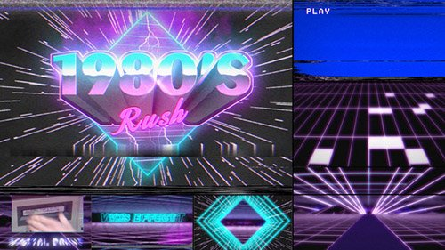 1980's Rush Template - Project for After Effects (Videohive)