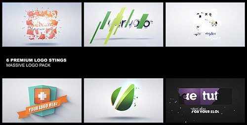 Premium Logo Pack 6in1 - Project for After Effects (Videohive)