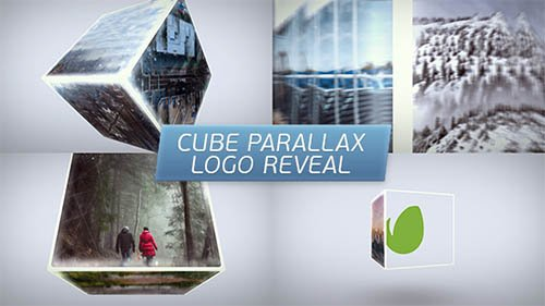 Cube Parallax Logo Reveal - Project for After Effects (Videohive)