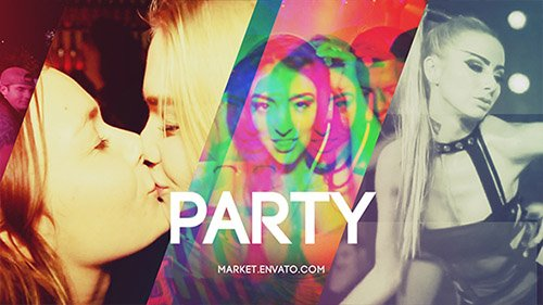 Slideshow Party - Project for After Effects (Videohive)