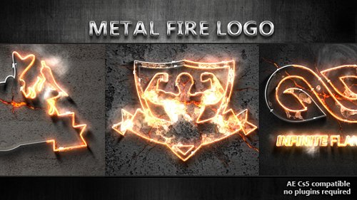 Metal Fire Logo - Project for After Effects (Videohive)
