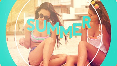 Summer Opener-17241325 - Project for After Effects (Videohive)