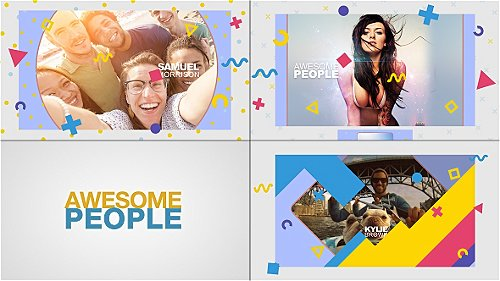 Awesome People Slideshow - Project for After Effects (Videohive)