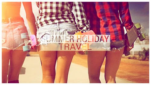 Summer Holiday Travel - Project for After Effects (Videohive)