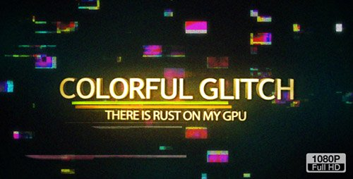 Colorful Glitch Reveal HD - Project for After Effects (Videohive)