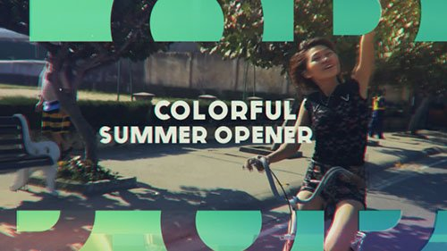 Colorful Summer Opener - Project for After Effects (Videohive)