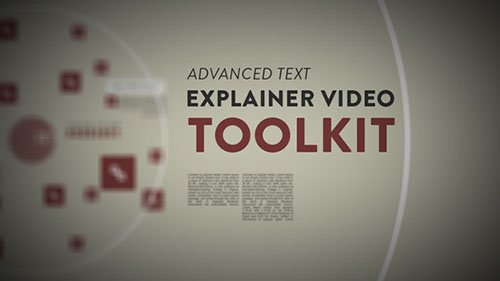 Advanced Text Explainer Video Toolkit - Project for After Effects (Videohive)