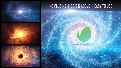 Galaxy Logo Reveal - Project for After Effects (Videohive)