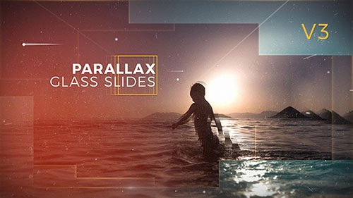Parallax Glass Slides - Project for After Effects (Videohive)
