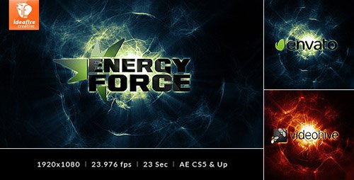 Energy Force - Logo Intro - Project for After Effects (Videohive)