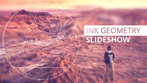 Ink Geometry Slideshow - Project for After Effects (Videohive)
