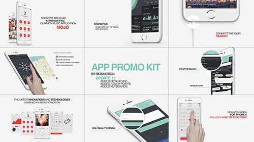 App Promo Kit (With Update 1.1) - Project for After Effects (Videohive)