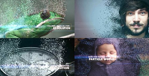 Particle World Slideshow - Project for After Effects (Videohive)