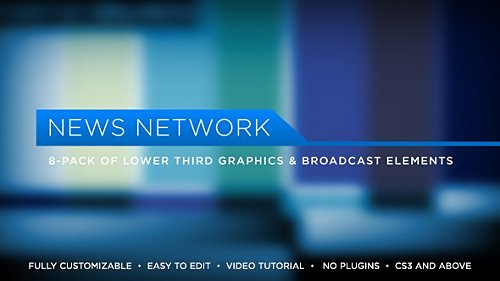 News Network Lower Thirds - Project for After Effects (Videohive)