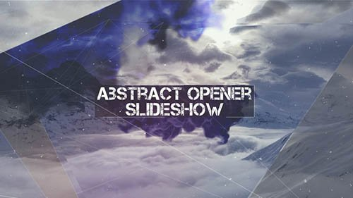 Abstract Opener - Slideshow - Project for After Effects (Videohive)