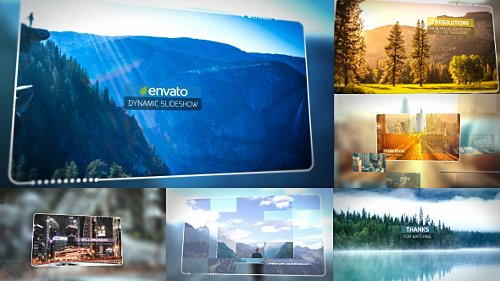 Dynamic Slideshow - Project for After Effects (Videohive)
