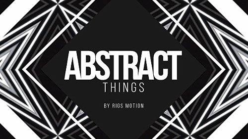Abstract Things // Fashion Opener - Project for After Effects (Videohive)
