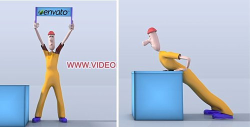 Character Animation Opener - Project for After Effects (Videohive)