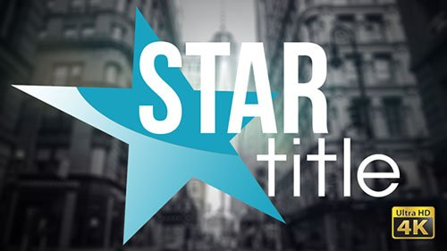 20 Star Titles - Project for After Effects (Videohive)