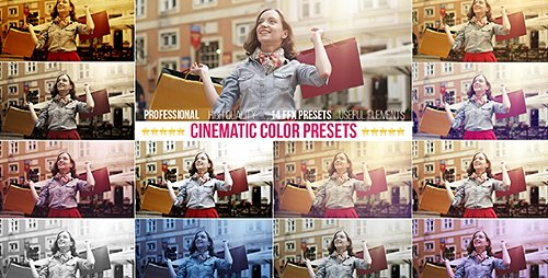 Cinematic Color Presets - After Effects Project & Preset (Videohive)