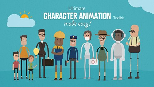 Ultimate Character Animation Toolkit - Project for After Effects (Videohive)