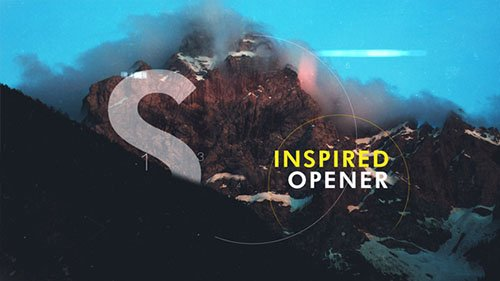 Inspired Slideshow I Opener - Project for After Effects (Videohive)