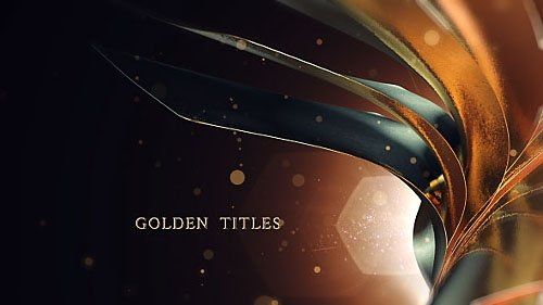 Golden Titles - Project for After Effects (Videohive)