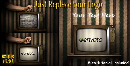 Old Broken TV - Project for After Effects (Videohive)