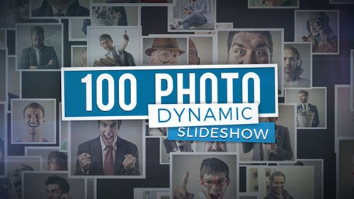 100 Photo - Dynamic Slideshow - Project for After Effects (Videohive)