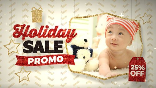 Holiday Sale Promo - Project for After Effects (Videohive)