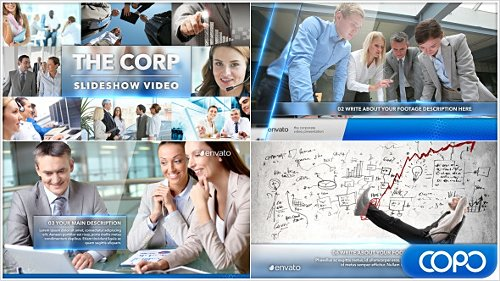 Simple Corporate Slideshow - Project for After Effects (Videohive)