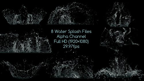 Water Splash Pack - Stock Footage (Videohive)