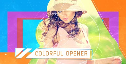 Colorful Opener - Project for After Effects (Videohive)