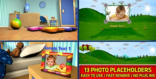 Baby Photo Album - Project for After Effects (Videohive)