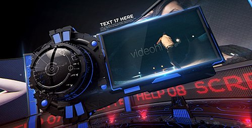 Velocity 3D Display - Project for After Effects (Videohive)