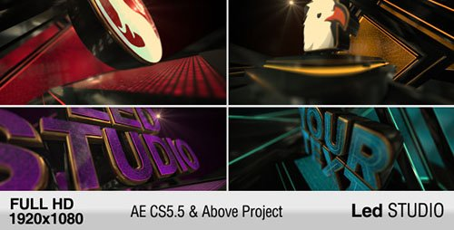 LED Studio Logo - Project for After Effects (Videohive)