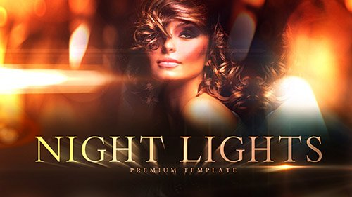 Night Lights 18617305 - Project for After Effects (Videohive)
