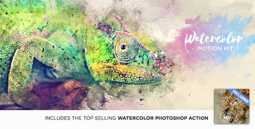 Watercolor Motion Kit - After Effects Scripts (Videohive)