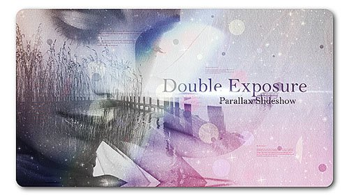 Double Exposure | Parallax Slideshow - Project for After Effects (Videohive)