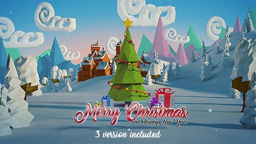 Christmas & New Year Logo - Project for After Effects (Videohive)