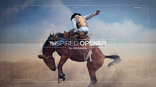 Inspired Opener - Slideshow - Project for After Effects (Videohive)