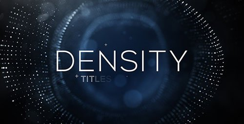 Density Titles - Project for After Effects (Videohive)