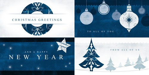 Parallax Christmas Greetings - Project for After Effects (Videohive)