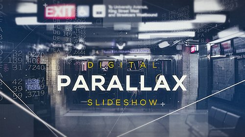 Digital Parallax - Project for After Effects (Videohive)