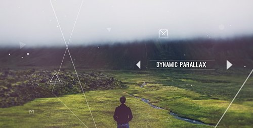 Dynamic Parallax Slideshow - Project for After Effects (Videohive)
