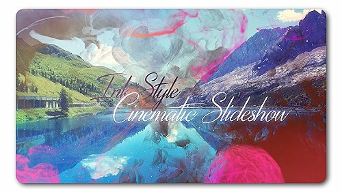 Ink Style | Parallax Slideshow - Project for After Effects (Videohive)